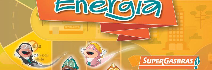 Jogo da Super Energia para a Supergasbras